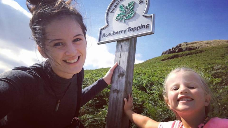 hiking with miya