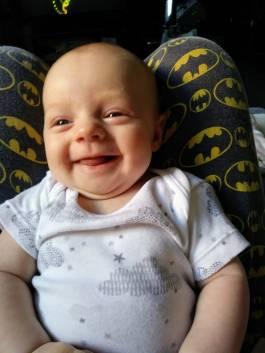 ...SMILING!!!