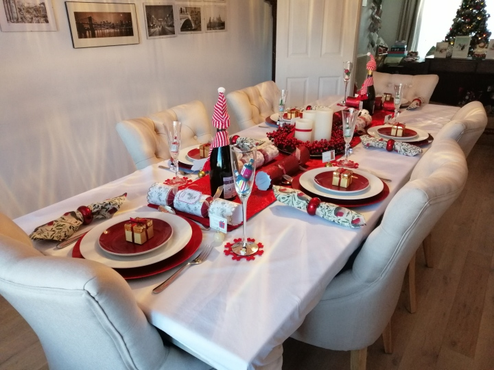 BLOGMAS DAY 24: Our Christmas Table