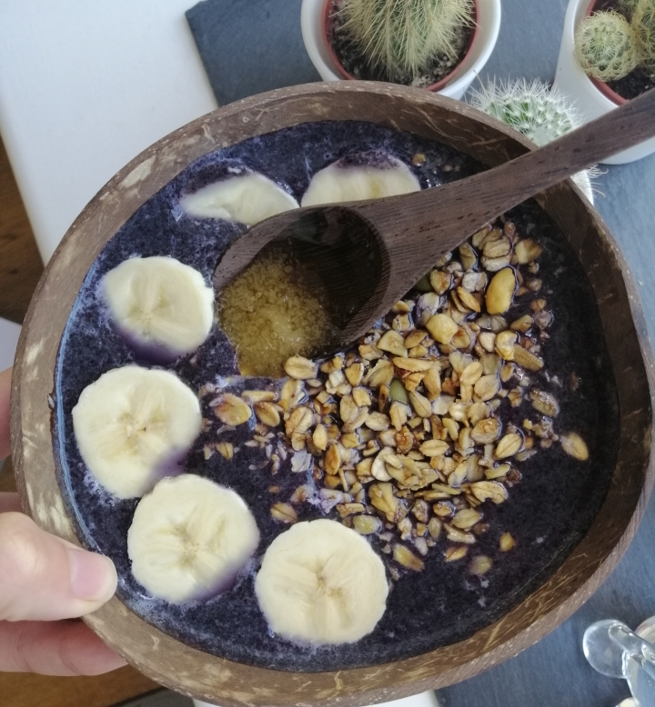 Purple Smoothie Bowl Recipe