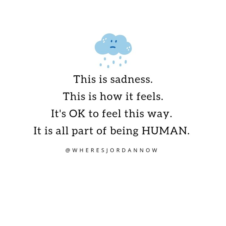 Don't Deny Your Sadness