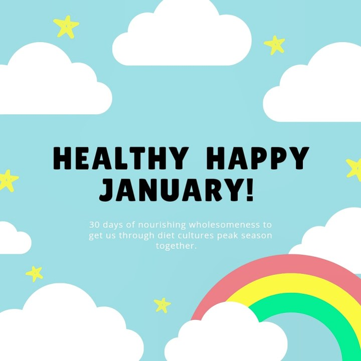 Healthy Happy January